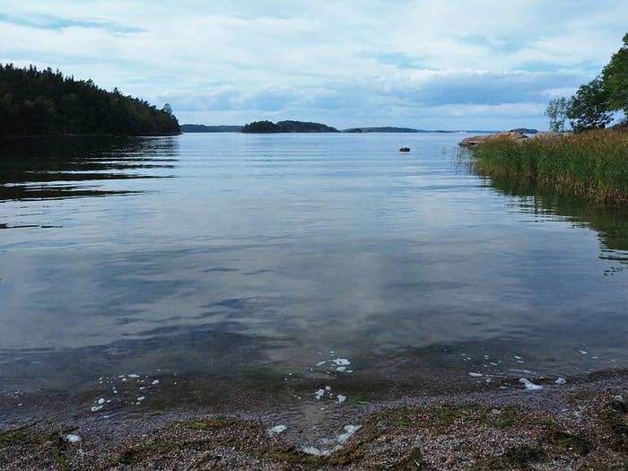 Bay on Grinda Island in the Stockholm Archipelago, Sweden