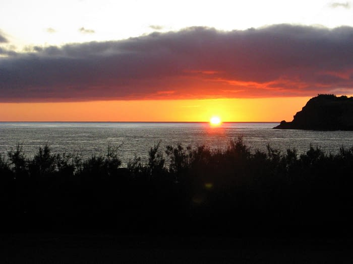 Sunrise over Graciosa, The Azores