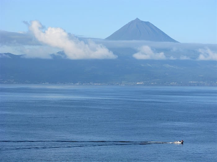 Pico from Sao Jorge island, The Azores