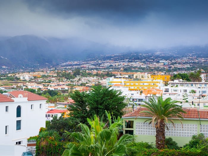 Puerto de la Cruz, Tenerife, Canary Islands