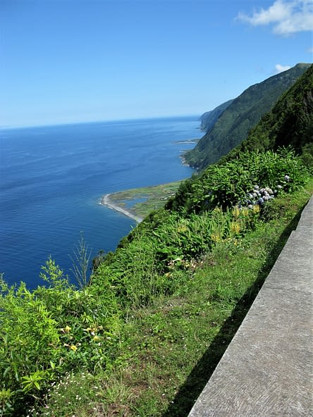 Sao Jorge coastline, The Azores