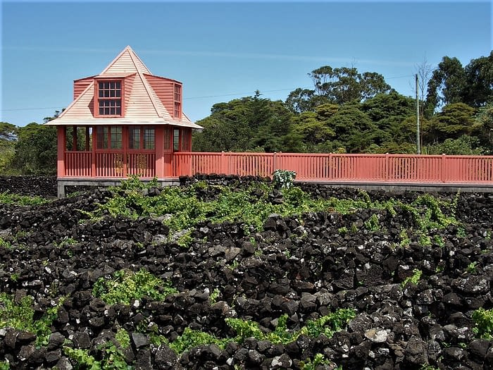 Wine museum, Pico, the Azores