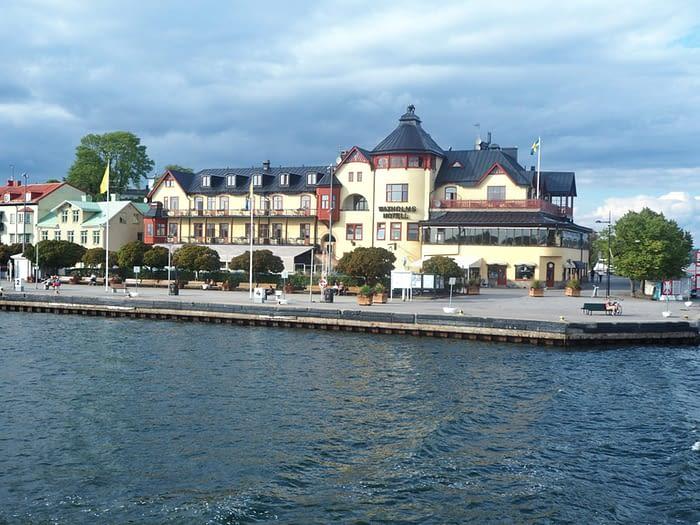 Vaxholm in the Stockholm Archipelago, Sweden