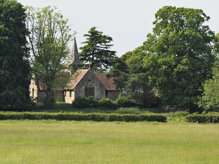 Church in Acaster Malbis near York, England