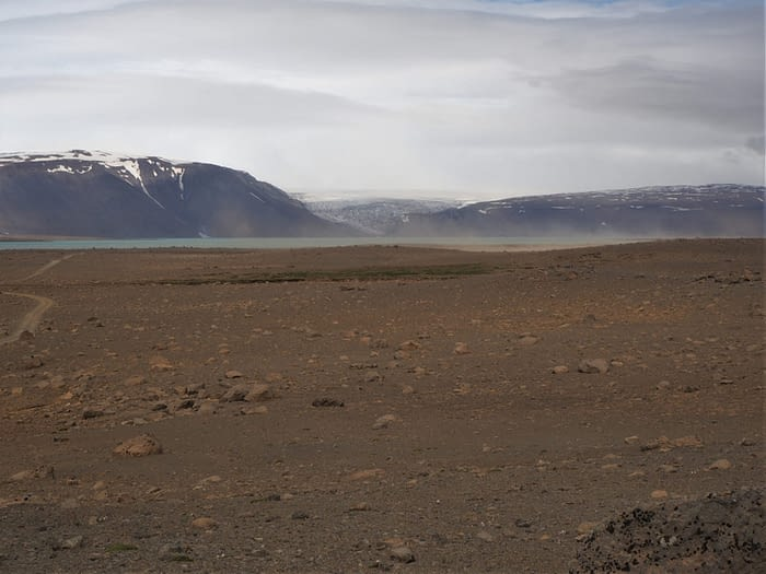 View from the F35 Highland Route, Iceland
