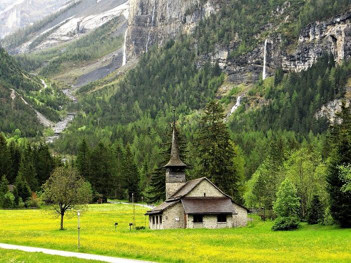 Church at Kandersteg, Switzerland