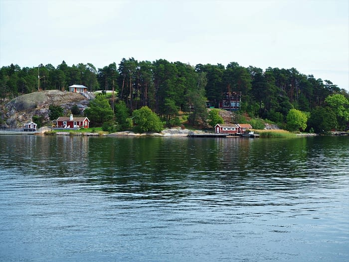 Island in the Stockholm Archipelago, Sweden