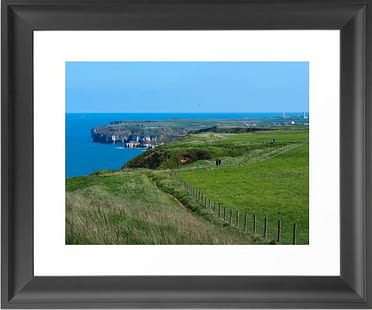 Framed Coastal Path