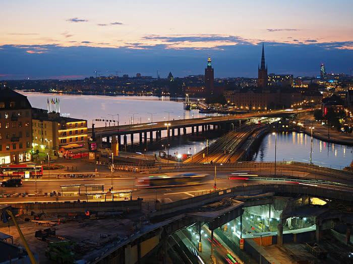 Stockholm at night, Sweden