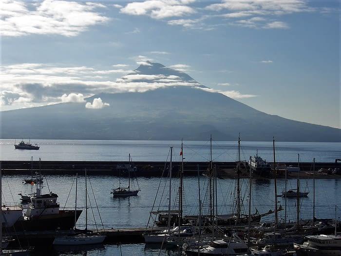 Pico from Horta, The Azores
