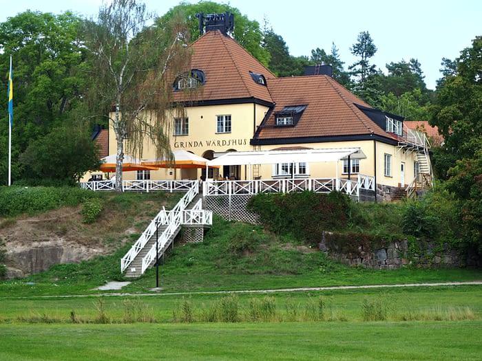 Grinda Wardshus, Grinda island in the Stockholm Archipelago