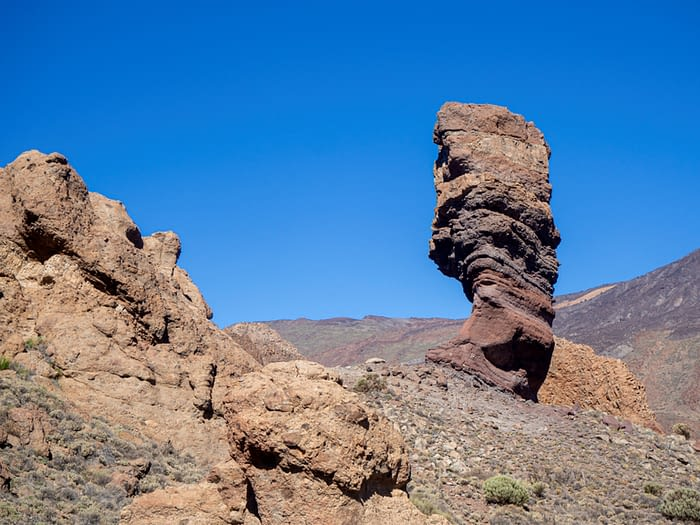 Roque Cinchado at Roques de Garcia, Teide National Park, Tenerife