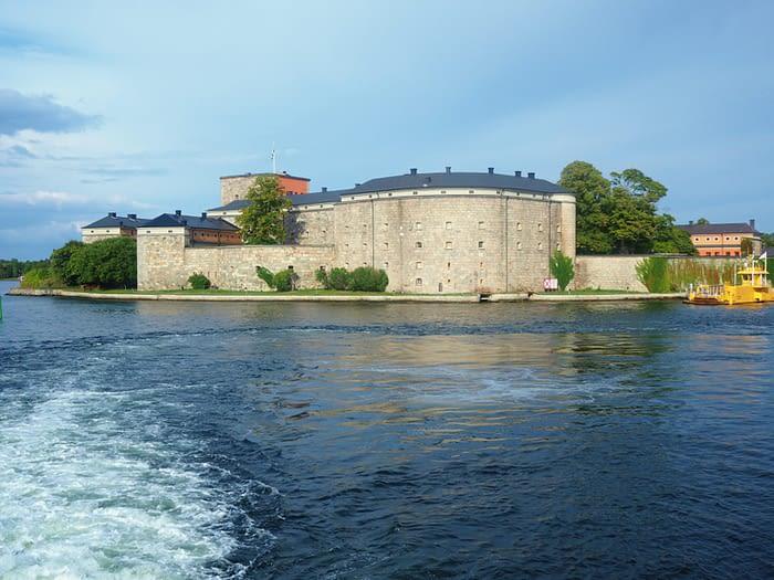 Vaxholm Fortress in the Stockholm Archipelago, Sweden
