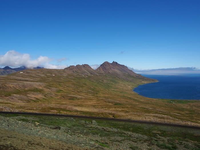 Landscape near Djupavik in the Westfjords, Iceland