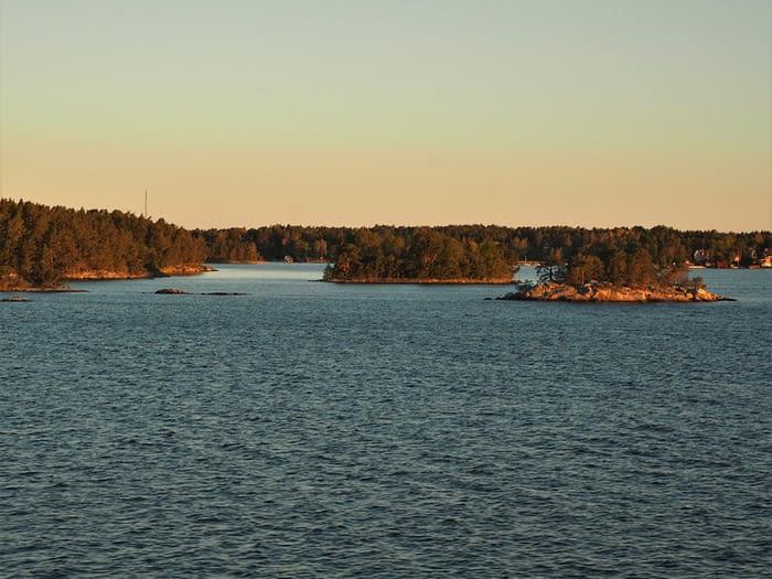 Early morning light in the Stockholm Archipelago, Sweden