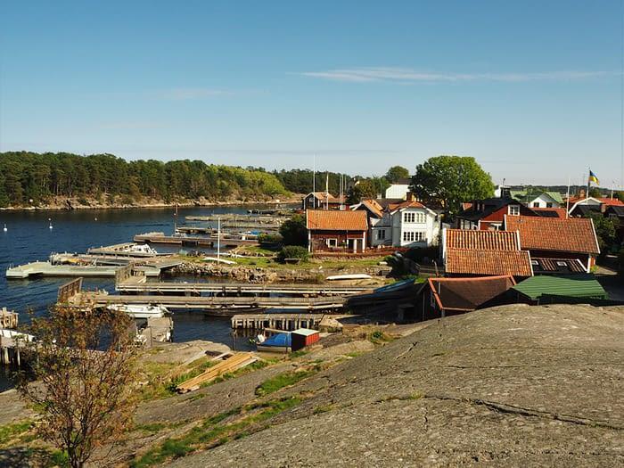 Sandhamn in the Stockholm Archipelago